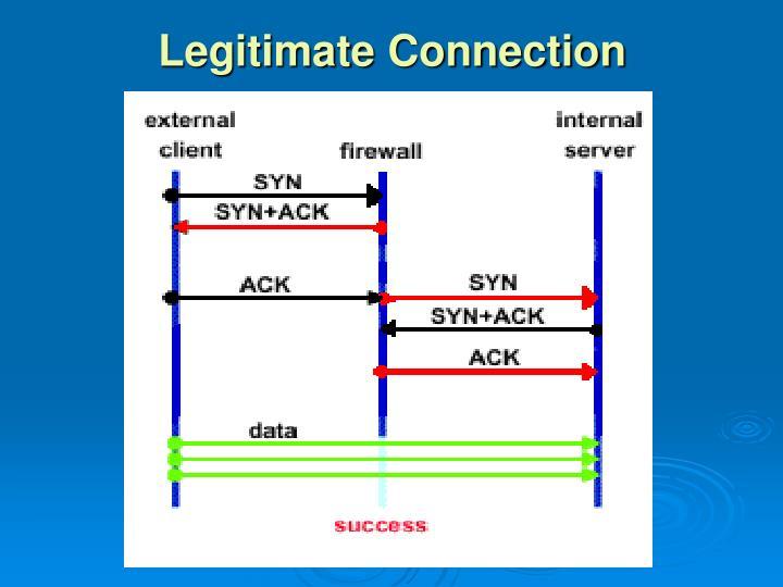 Legitimate Connection