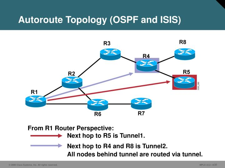 Autoroute Topology (OSPF and ISIS)