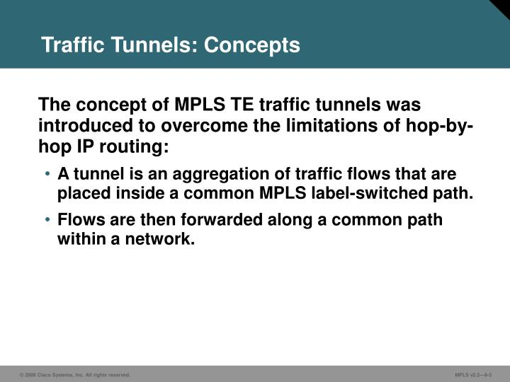 Traffic tunnels concepts