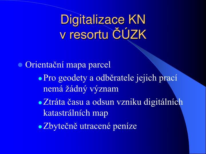 Digitalizace KN