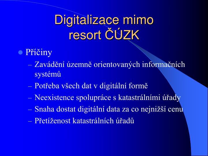 Digitalizace mimo