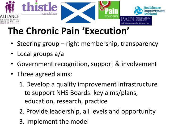 The Chronic Pain 'Execution'