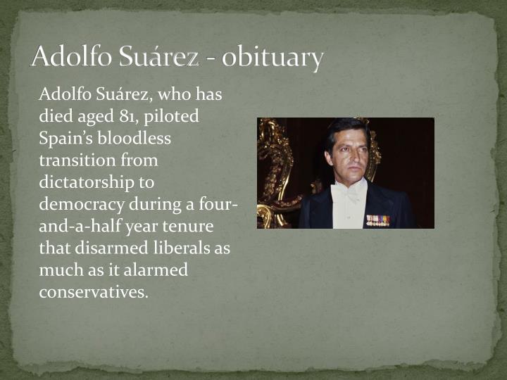 Adolfo Suárez -