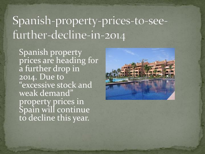 Spanish-property-prices-to-see-further-decline-in-2014