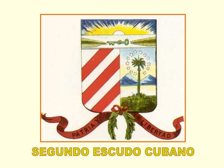 SEGUNDO ESCUDO CUBANO
