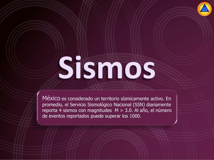 Sismos
