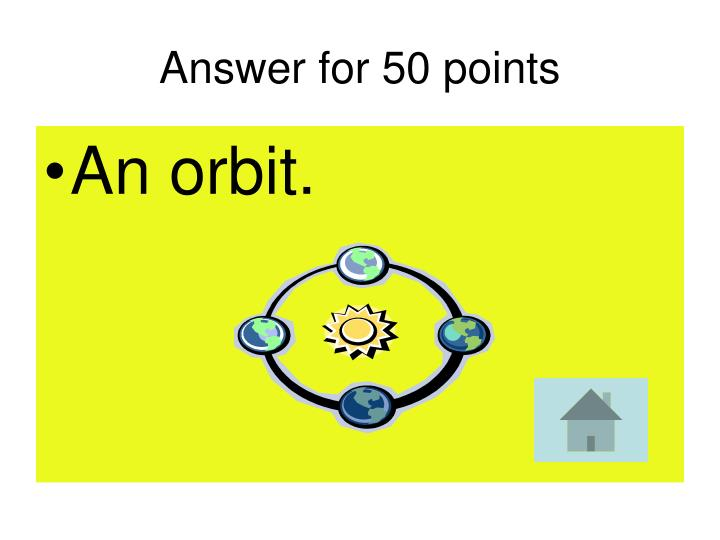 Answer for 50 points