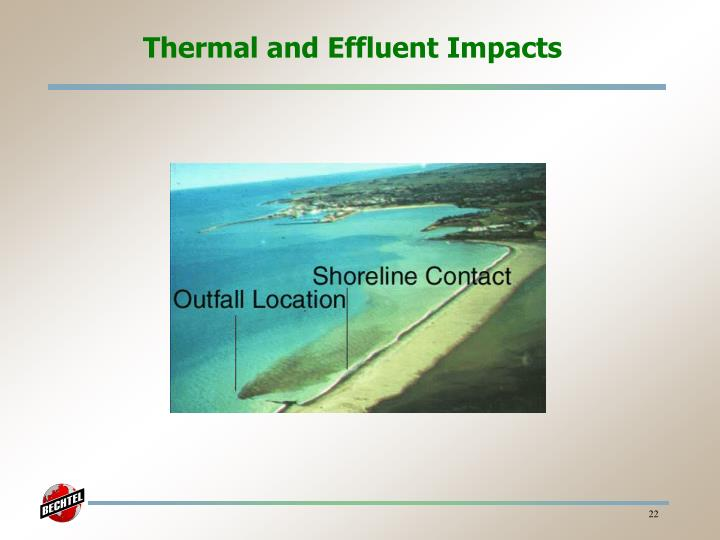 Thermal and Effluent Impacts