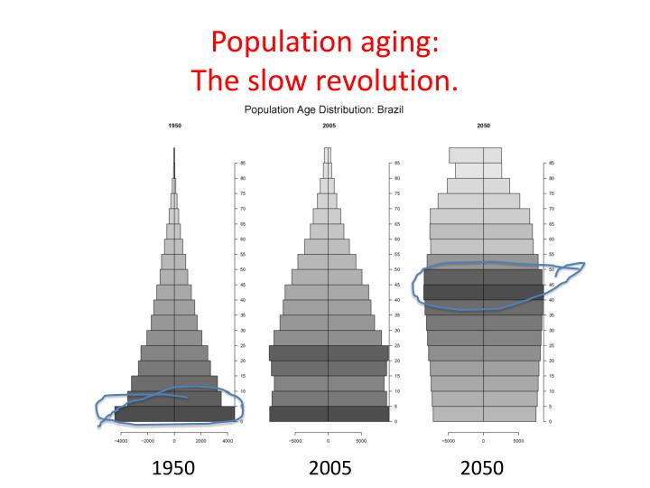 Population aging: