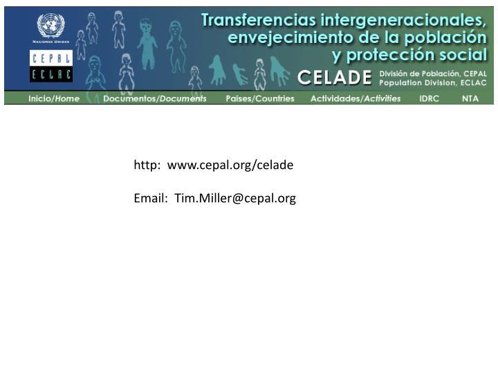 http:  www.cepal.org/celade