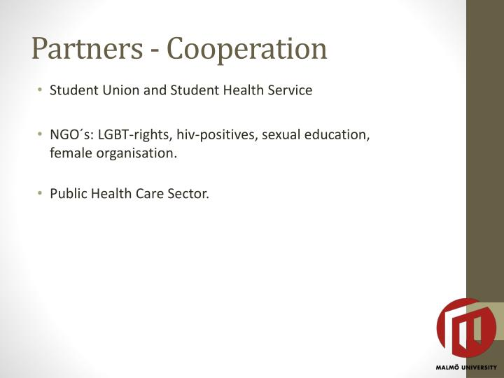 Partners - Cooperation