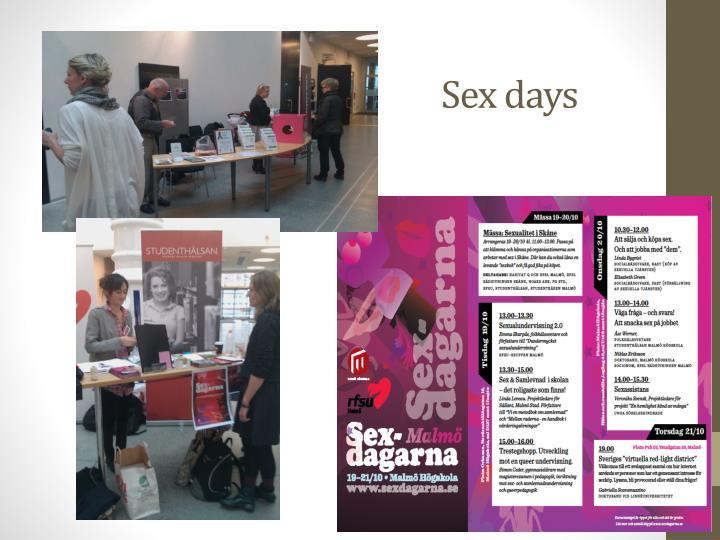 Sex days