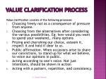 value clarification process