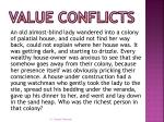 value conflicts1