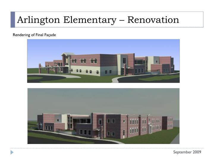 Arlington Elementary – Renovation