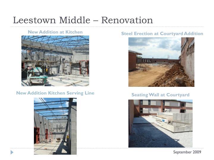 Leestown Middle – Renovation