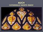 auch cathedrale sainte marie