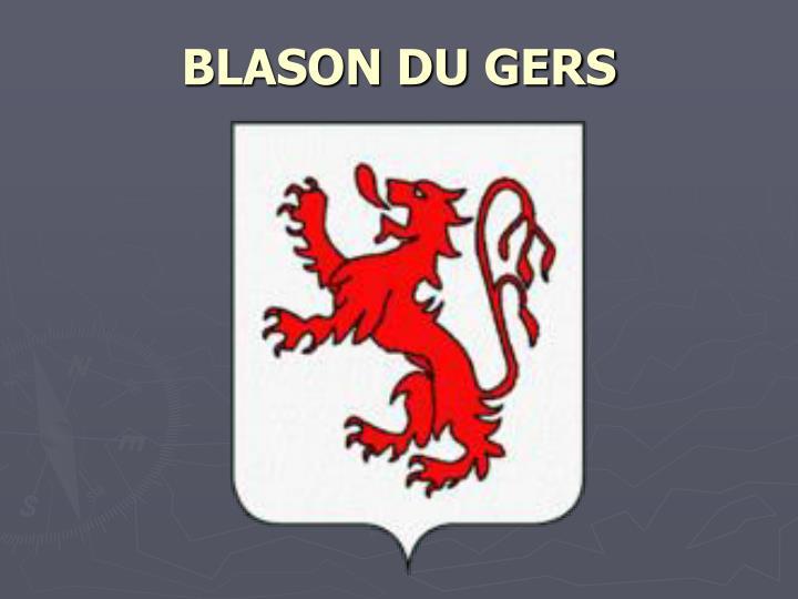 BLASON DU GERS