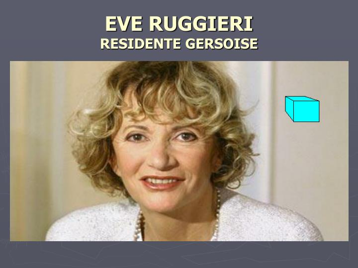 EVE RUGGIERI