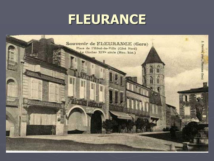 FLEURANCE