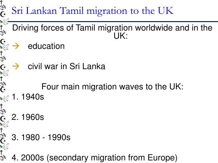Sri Lankan Tamil migration to the UK