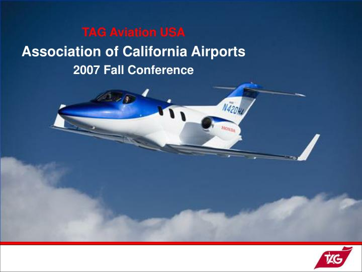 TAG Aviation USA