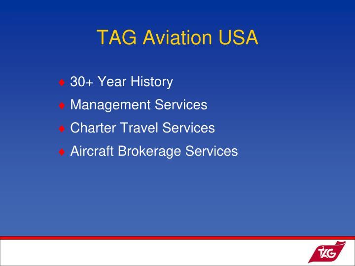 TAG Aviation USA
