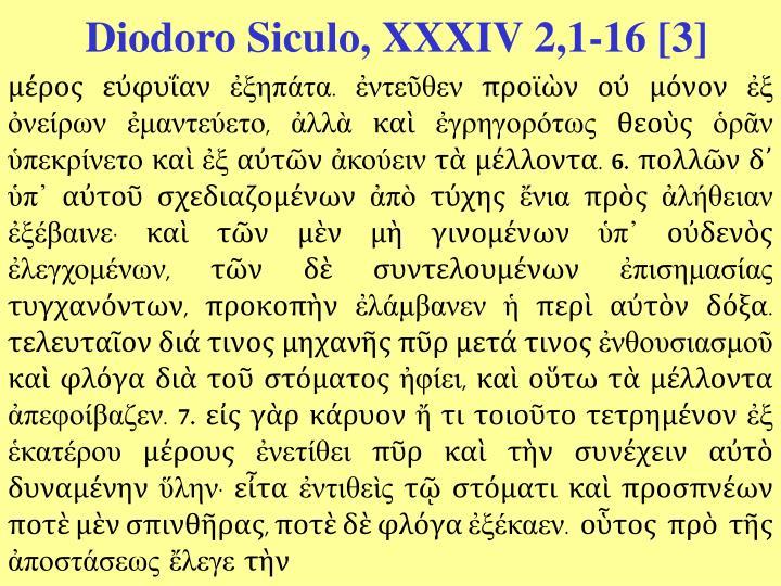 Diodoro Siculo, XXXIV 2,1-16 [3]