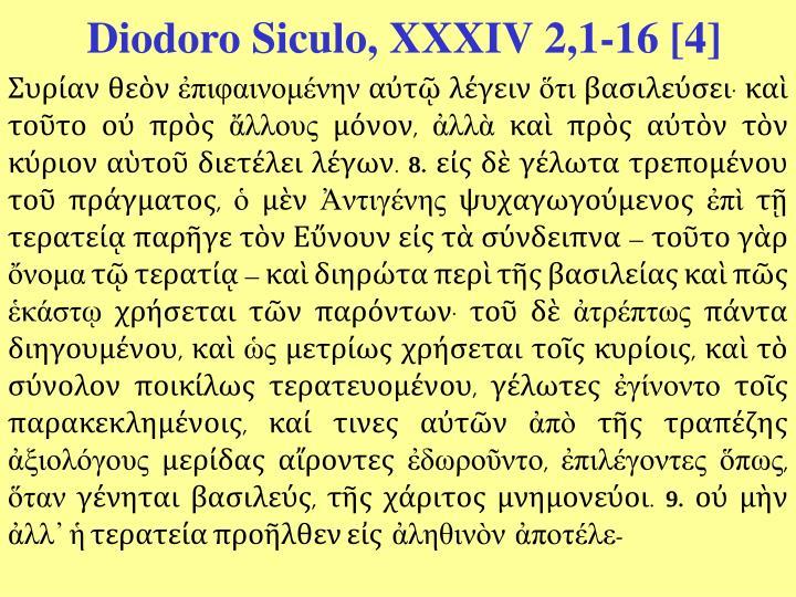 Diodoro Siculo, XXXIV 2,1-16 [4]