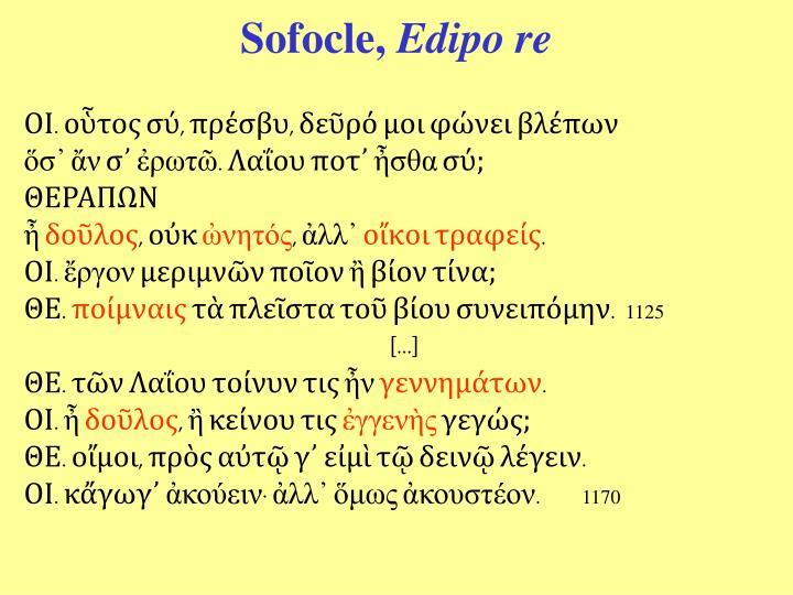 Sofocle,