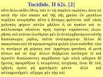 tucidide ii 62s 2