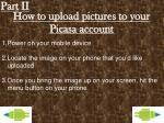 how to upload pictures to your picasa account