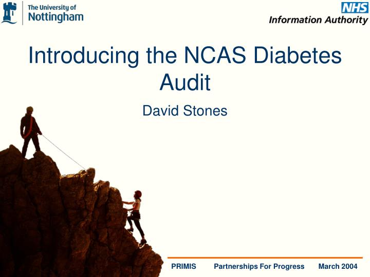 Introducing the NCAS Diabetes Audit