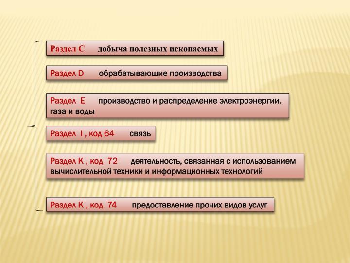 Раздел С