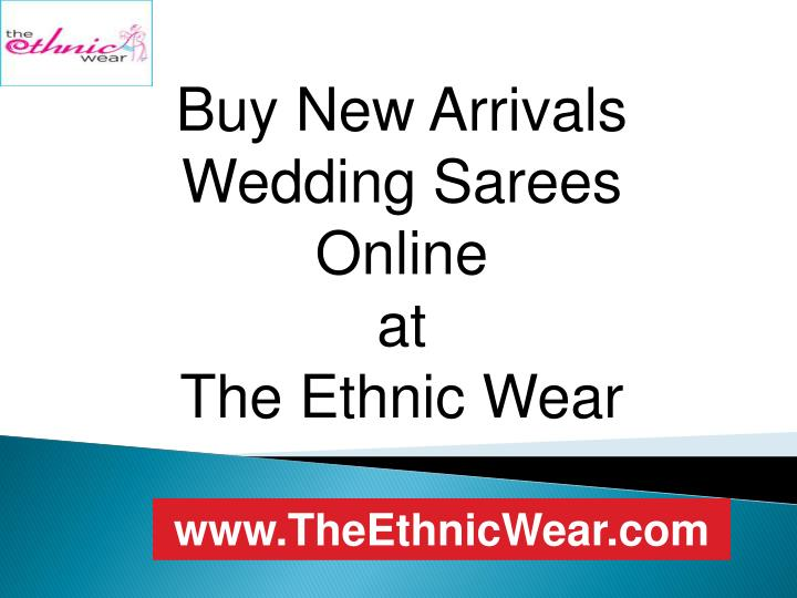 Buy New Arrivals Wedding Sarees Online