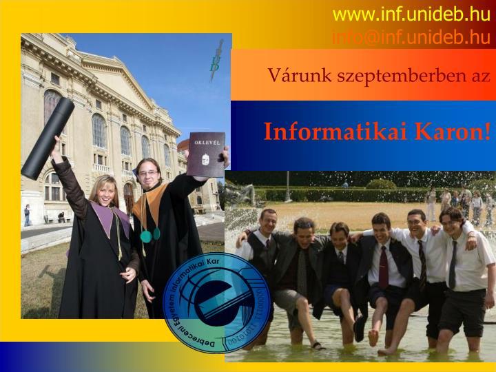 www.inf.unideb.hu