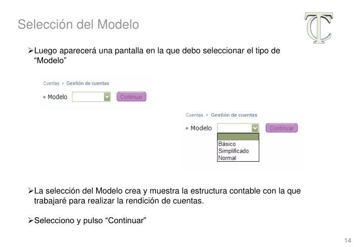 Selección del Modelo