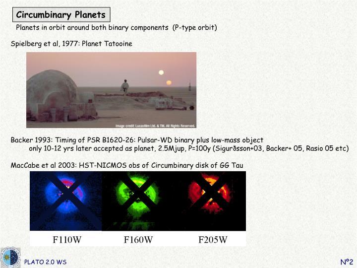 Circumbinary Planets