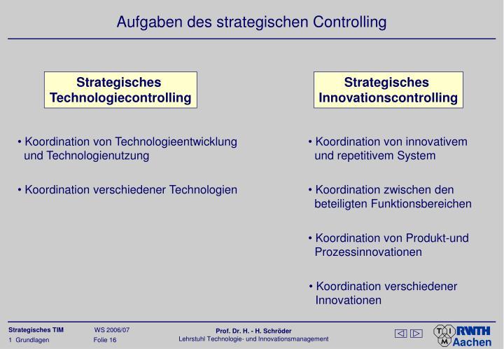 Koordination von Technologieentwicklung