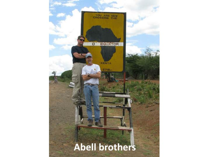Abell brothers
