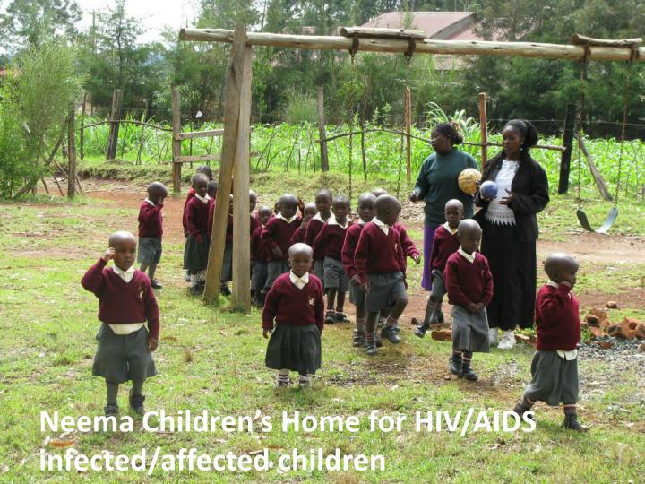 Neema Children's Home for HIV/AIDS infected/affected children