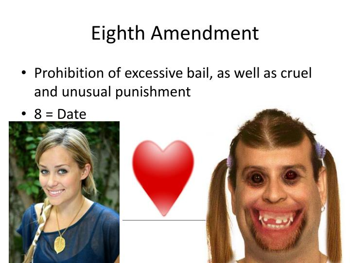 Eighth Amendment