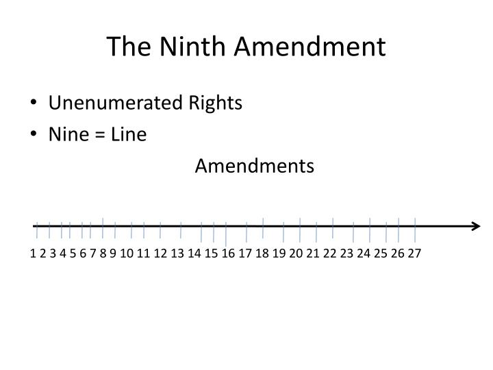 The Ninth Amendment