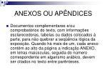 anexos ou ap ndices