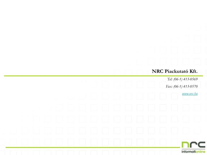 NRC Piackutató Kft.