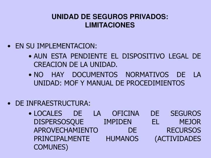 Ppt oficina de seguros publicos y privados seguro for Oficina de seguros
