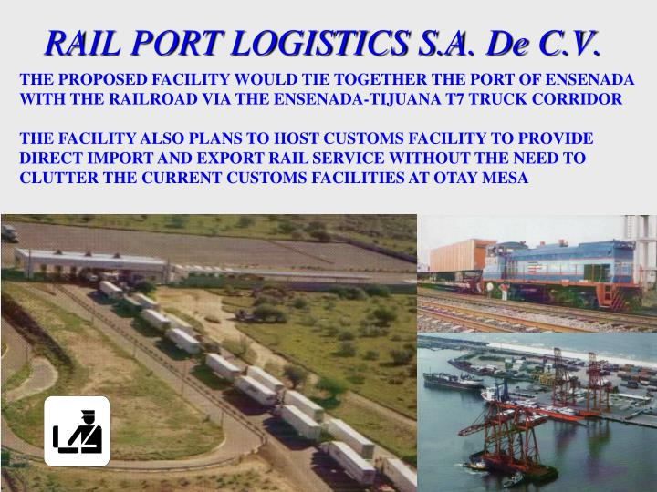 RAIL PORT LOGISTICS S.A. De C.V.