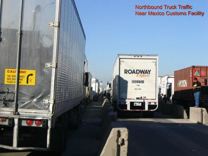 Northbound Truck Traffic