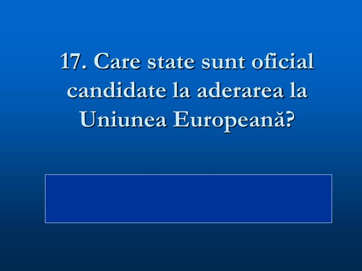 17. Care state