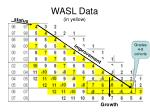 wasl data in yellow